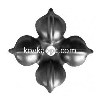 VK3.621 Цветок д50х1мм, отв.10мм.