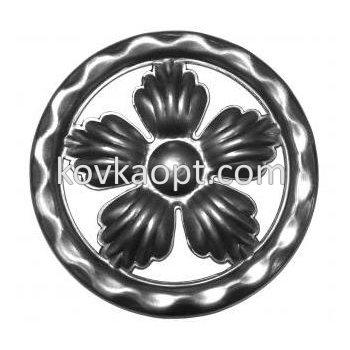 VK13101.02 Цветок полукольцо d120х1.5мм
