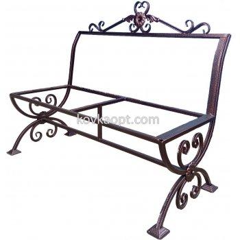 Каркас скамейки 1200х700х400мм Полимерное покрытие