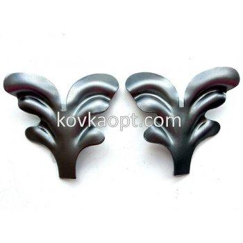 VK03.04 Листья 75х70 (1.5мм) Вес 0.15кг. Цена:(за пару)