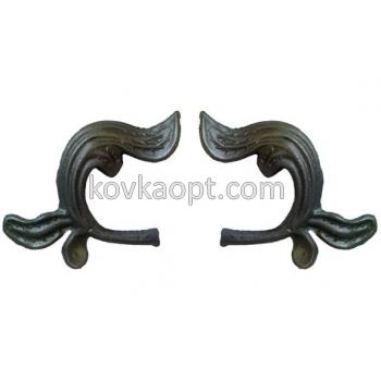 VK201.2 Листья 150х130 4мм Цена за пару