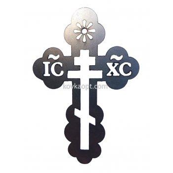 Крест металлический 150х110 1.5мм