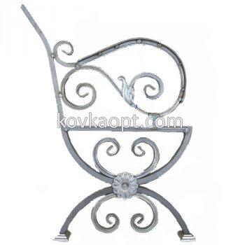 Боковина скамейки с подлокотником 850х400х540 (20мм) Цена:(за пару)