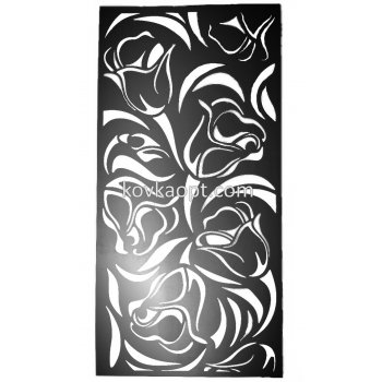 """Панель""""Цветы"""" 1980х992(1.5мм)"""
