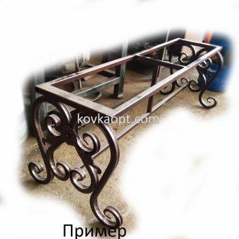 Боковина скамейки 400х355х480мм Цена за пару